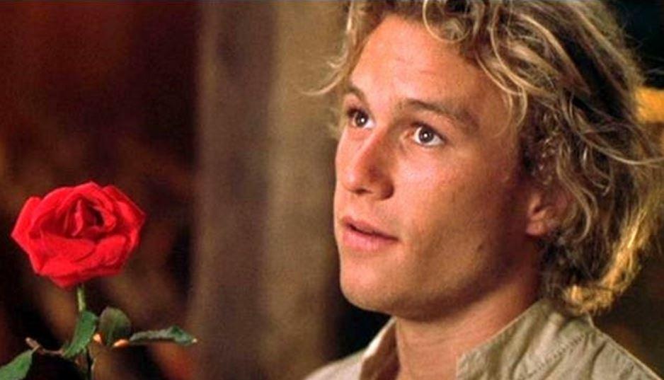 Heath Ledger in A Knight's Tale. Image: Pinterest