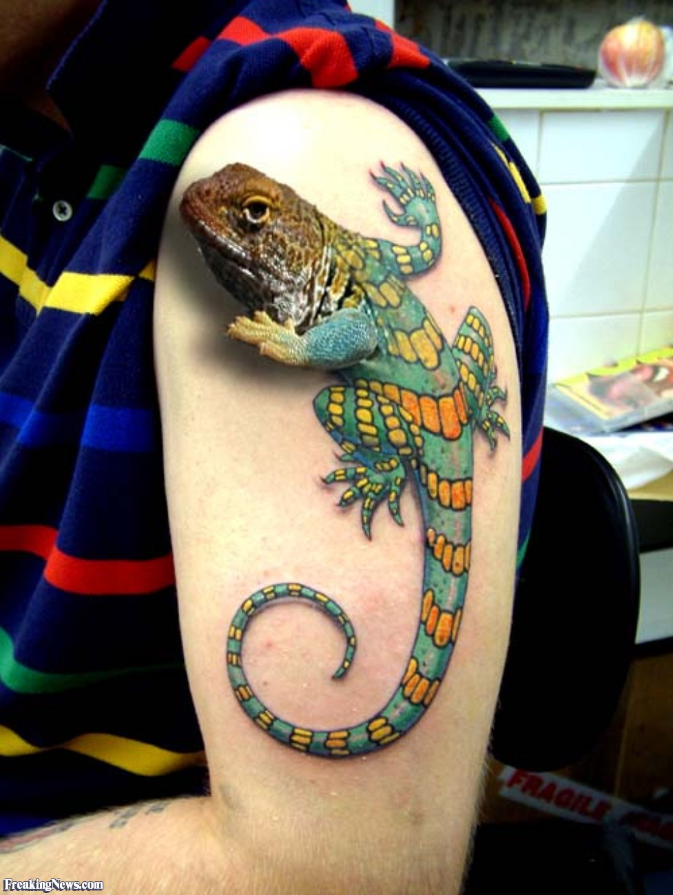 The Most Hyper Realistic Tattoos Existing Today | Page 33 ... 10 Realistic 3d Tattoos